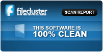 Filecluster award - This software is 100% clean