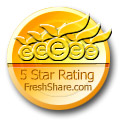 5 star rating - freshshare